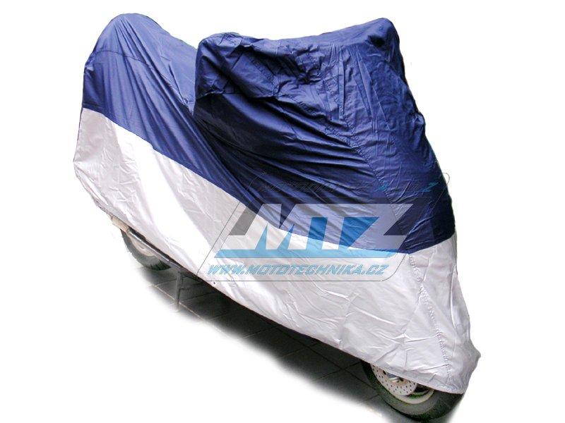 Plachta universální (250-500cc) modro-stříbrná