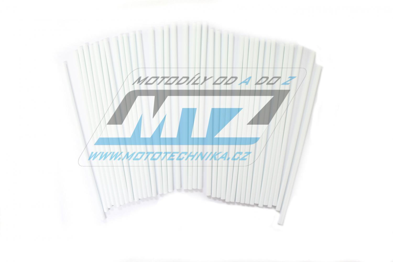 Návleky na dráty / kryty drátů (1sada) - bílé