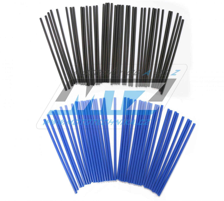 Návleky na dráty / kryty drátů (1sada) - černo-modré