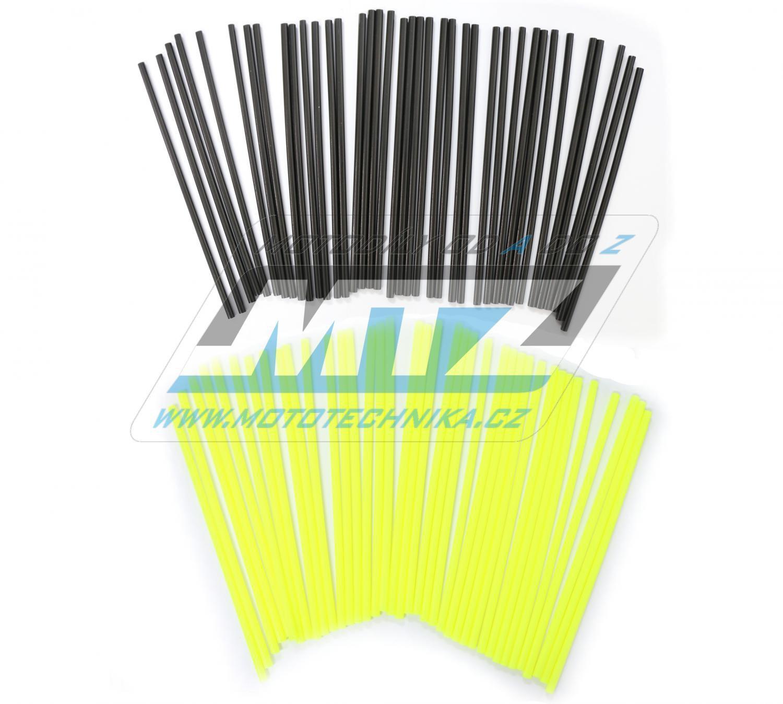 Návleky na dráty / kryty drátů (1sada) - černo-žluté