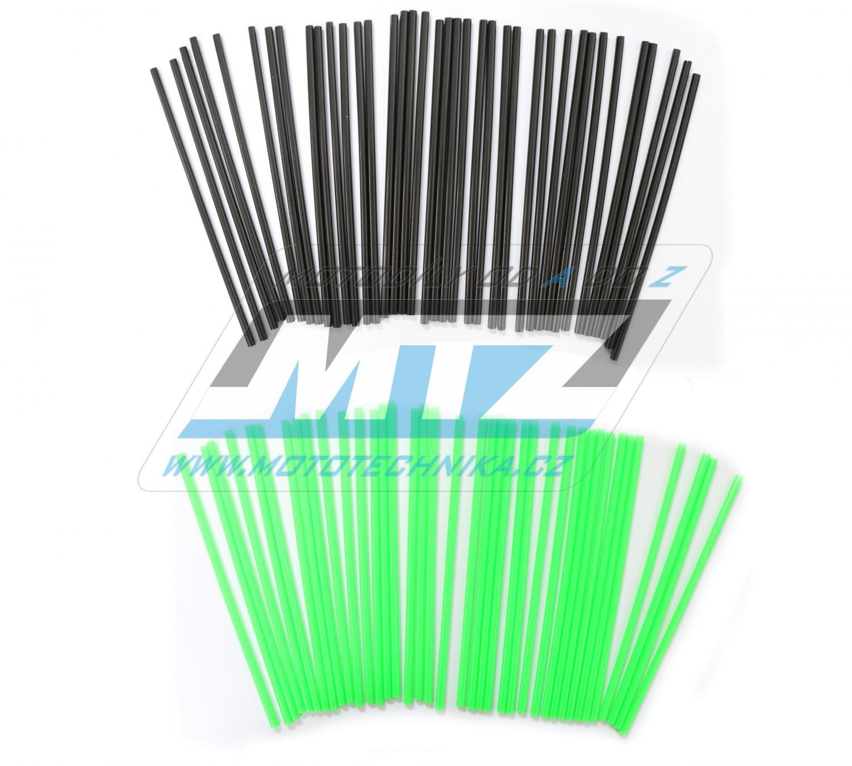 Návleky na dráty / kryty drátů (1sada) - černo-zelené
