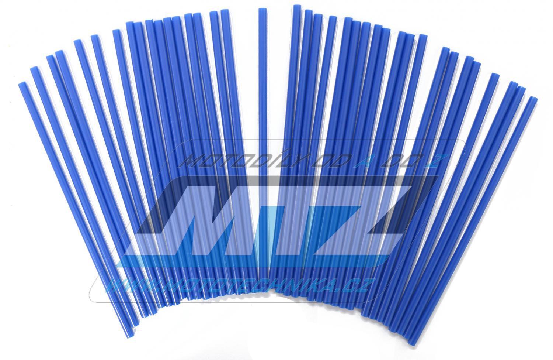 Návleky na dráty / kryty drátů (1sada) - modré