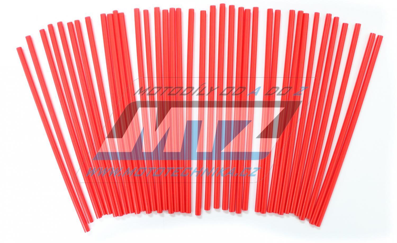 Návleky na dráty / kryty drátů (1sada) - červené