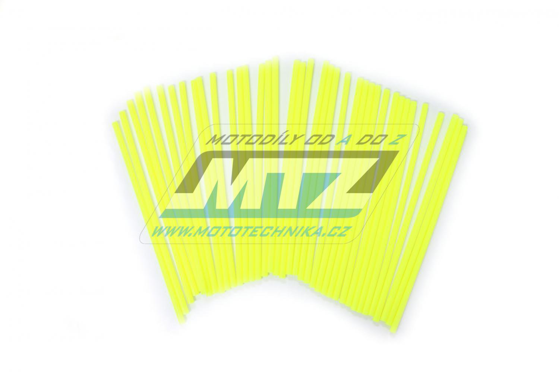 Návleky na dráty / kryty drátů (1sada) - žluté
