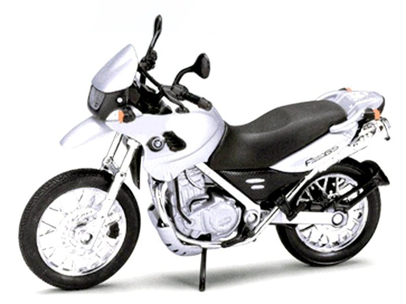 Model motocyklu BMW F650