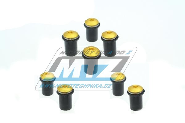 Šrouby na plexi M5x15mm (8ks)
