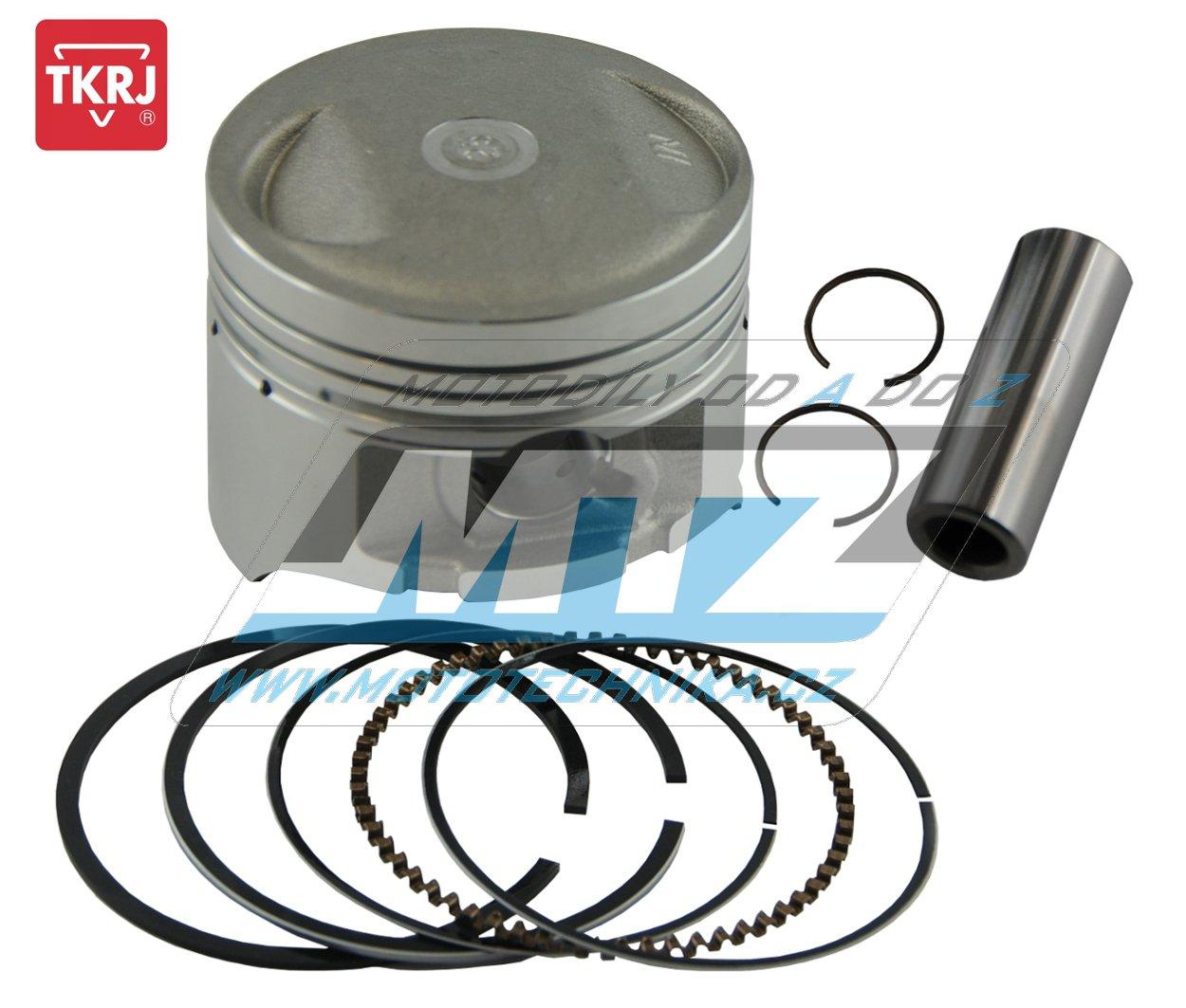 Píst Honda XR125L / 03-06 + CG125 / 05-06 - pro vrtání 56,75mm (pístní čep průměr 13mm)