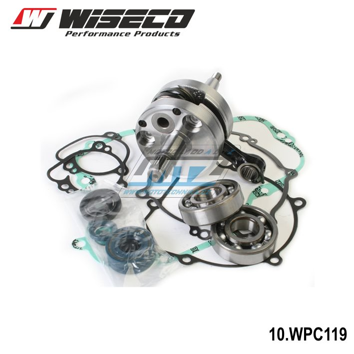 Kľuková hriadeľ Kawasaki KX 80 + 85 + 100 / 91 - 05 Wiseco
