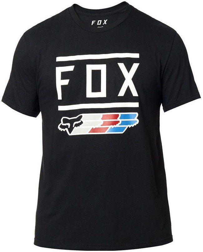 Tričko FOX Super Tee Black - velikost XXL