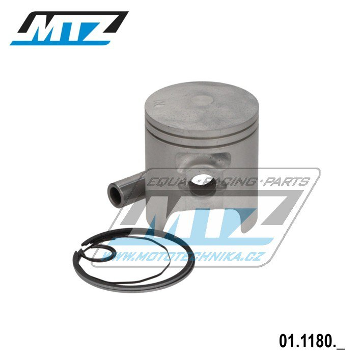 Píst MTX80, MBX80-R/2 - průměr 51,00mm