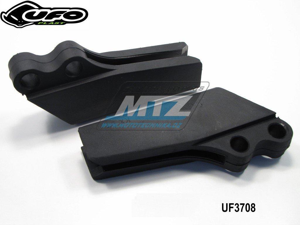 Vodítko řetězu Kawasaki KX125+250 / 97-02 - černé