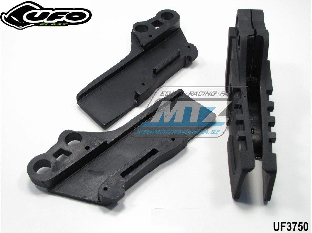 Vodítko řetězu Kawasaki KX125+250 / 03-08 + KXF250 / 04-05 + Suzuki RMZ250 / 04-06 - černé