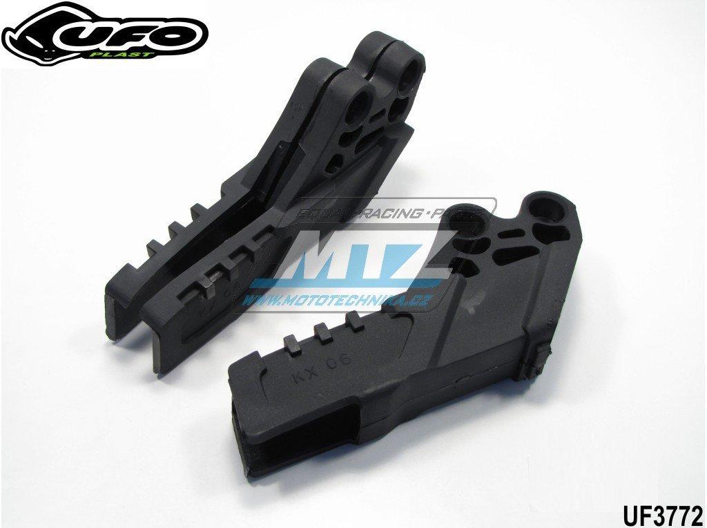 Vodítko řetězu Kawasaki KXF250 + KXF450 / 06-08 - černé