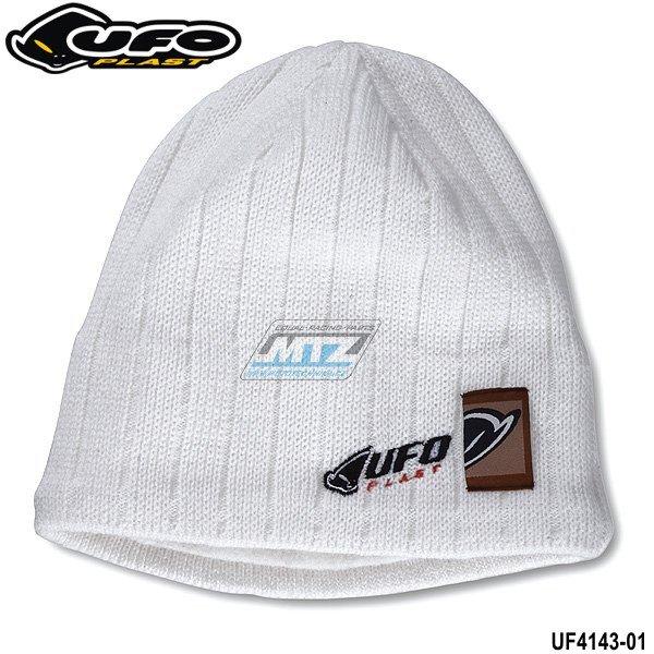 Čepice zimní Ufo - bílá