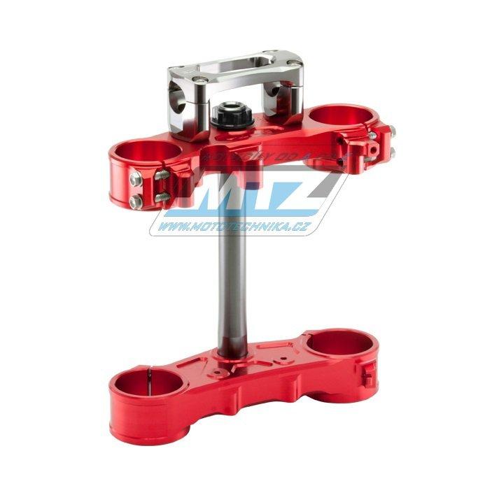 """Triple-Clamp """"brýle"""" kompletní včetně klem - Honda CRF250L / 12-16 - červené"""