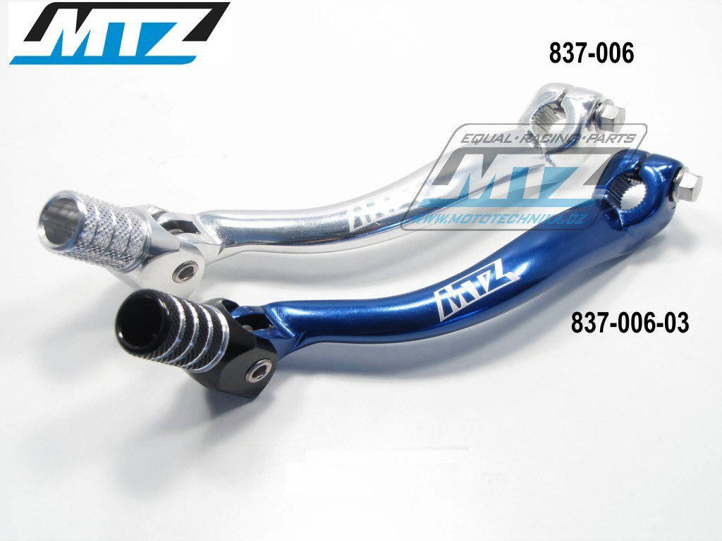 Řadička Yamaha YZF250+YZF400+YZF426 / 98-02 + WRF250+400+426 / 98-02 + WRF450 / 03-15 + Gas-Gas EC450F - stříbrná