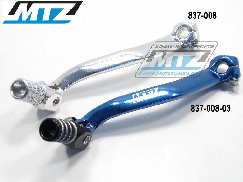 Řadička Yamaha YZ125 / 05-17 - stříbrná