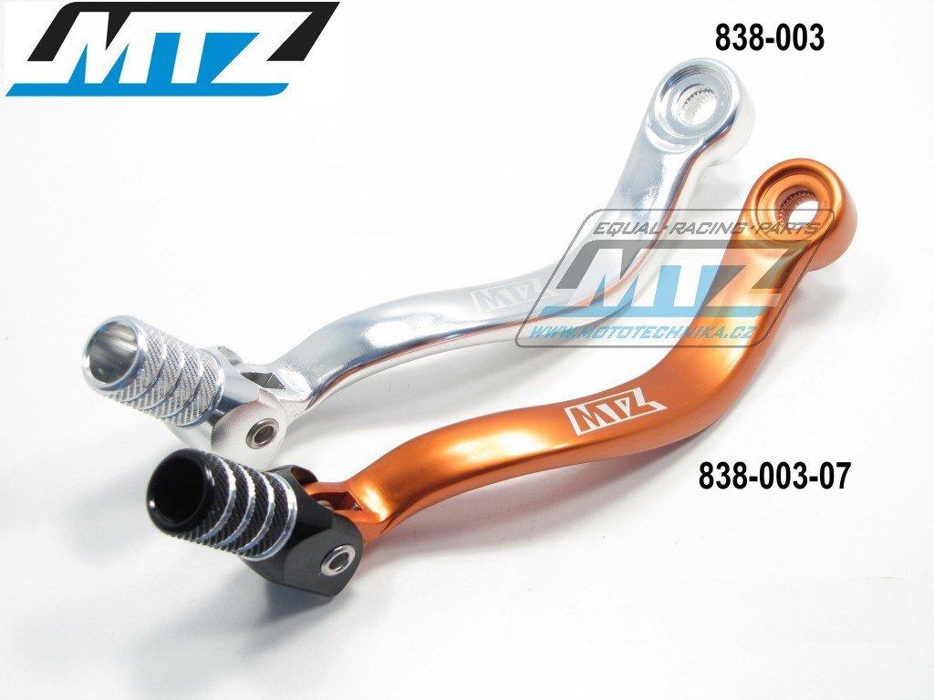 Řadička KTM125+150+200+250+350 stříbrná