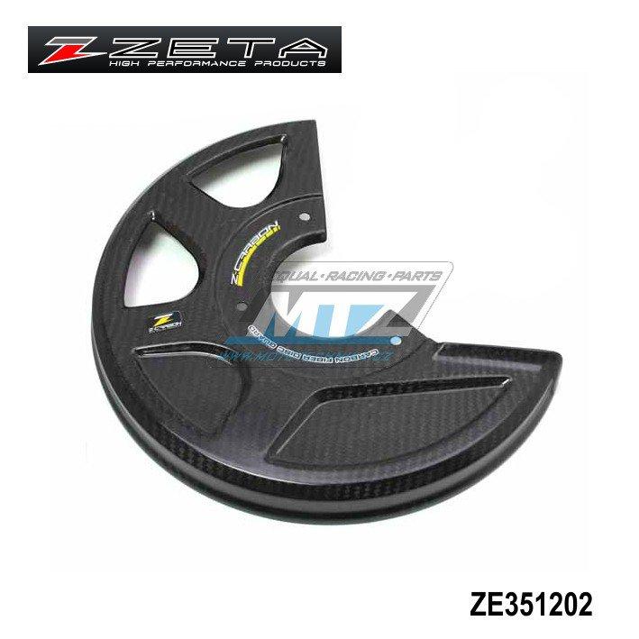 Kryt předního brzdového kotouče Z-Carbon (do 270mm) - karbonový