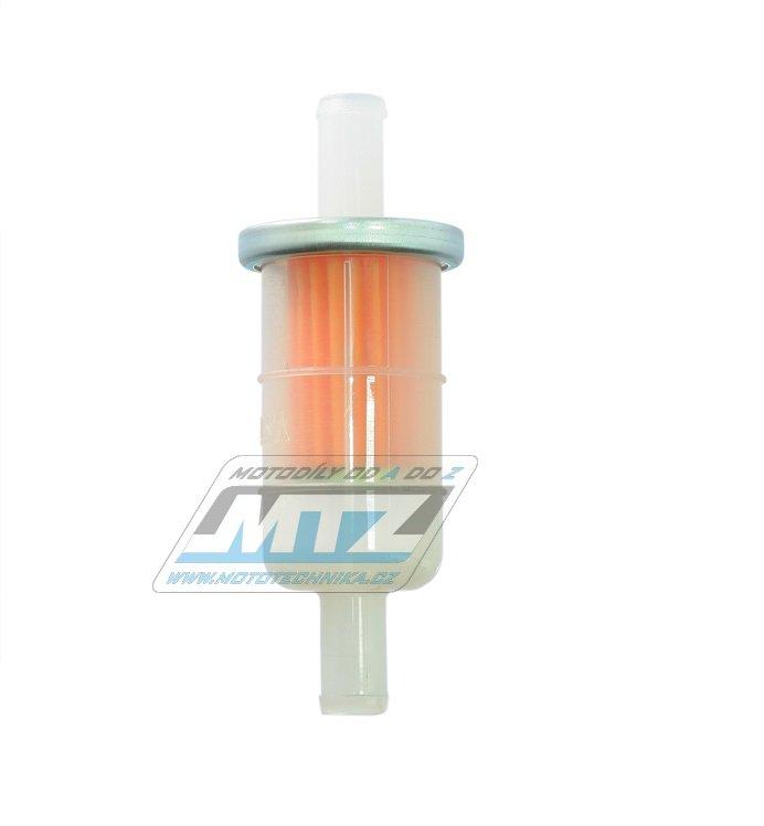 """Filtr palivový/benzínový - průměr 3/8"""" (10mm) - plastový"""