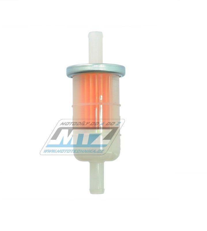 """Filtr palivový/benzínový - průměr 5/16"""" (8mm) - plastový"""