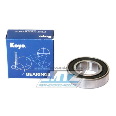 Ložisko 6005-2RS (rozměry: 25x47x12 mm) Koyo