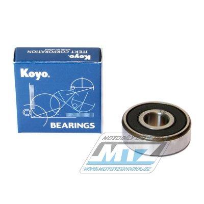 Ložisko 6301-2RS (rozměry: 12x37x12 mm) Koyo