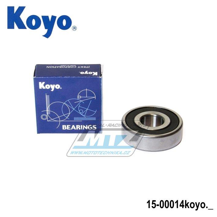 Ložisko 6303-2RS (rozměry: 17x47x14 mm) Koyo