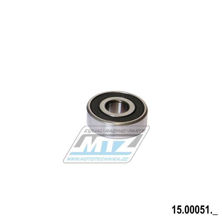 Ložisko 6302-2RS (rozměry: 15x42x13 mm)