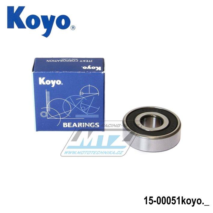 Ložisko 6302-2RS (rozměry: 15x42x13 mm) Koyo