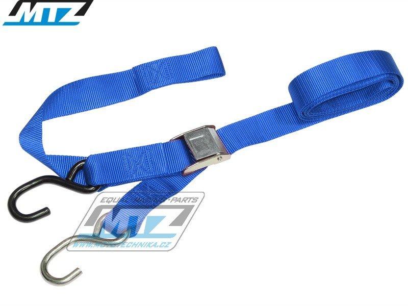 Popruhy/Kurty 38mm (zesílené provedení / 2 možnosti uchycení) - modré
