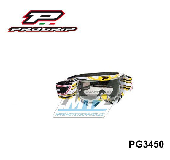 Brýle Progrip 3450 - žluté