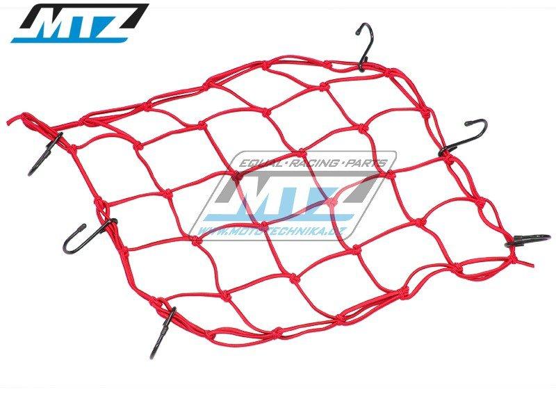 Síťka s háky (40x40cm) - červe