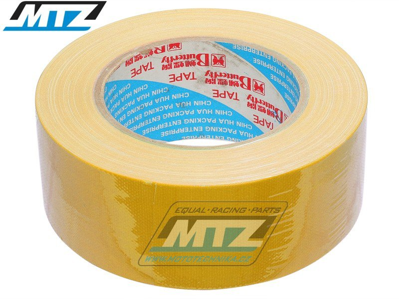 Páska americká 48mmX25m -žlutá