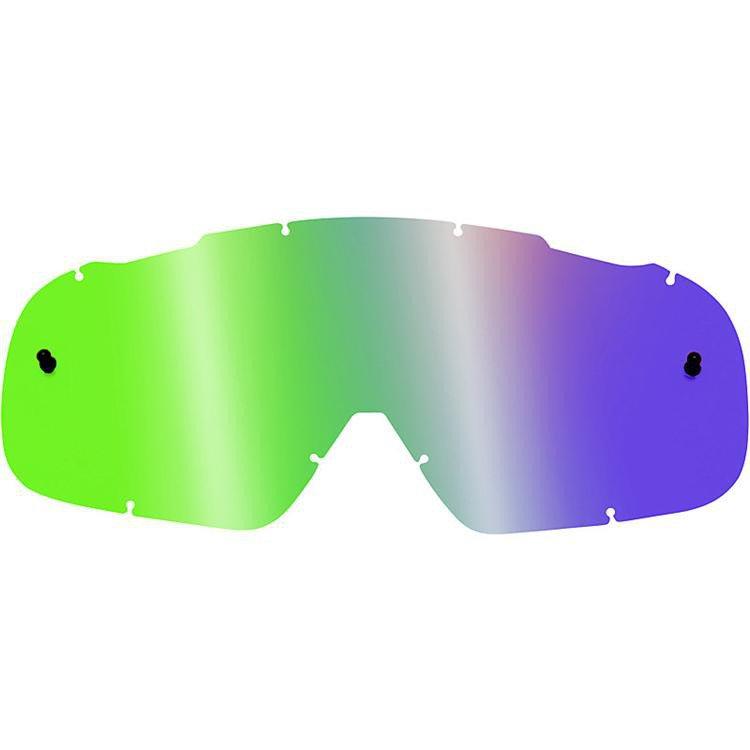 Sklo FOX AirSpc - nepotící, tvrzené, zrcadlové/zelené