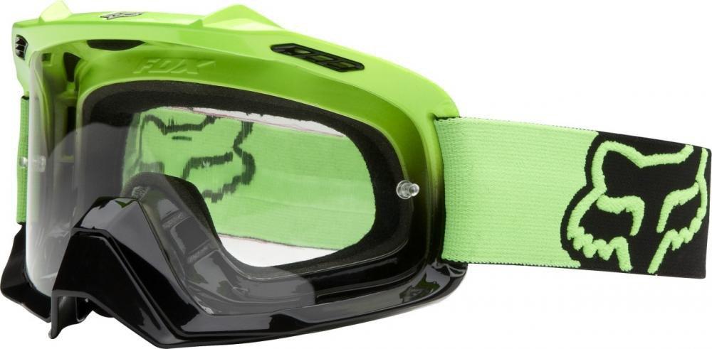 Brýle FOX Air Space Dark Green-Black Fade-Clear (AirSpc Green)