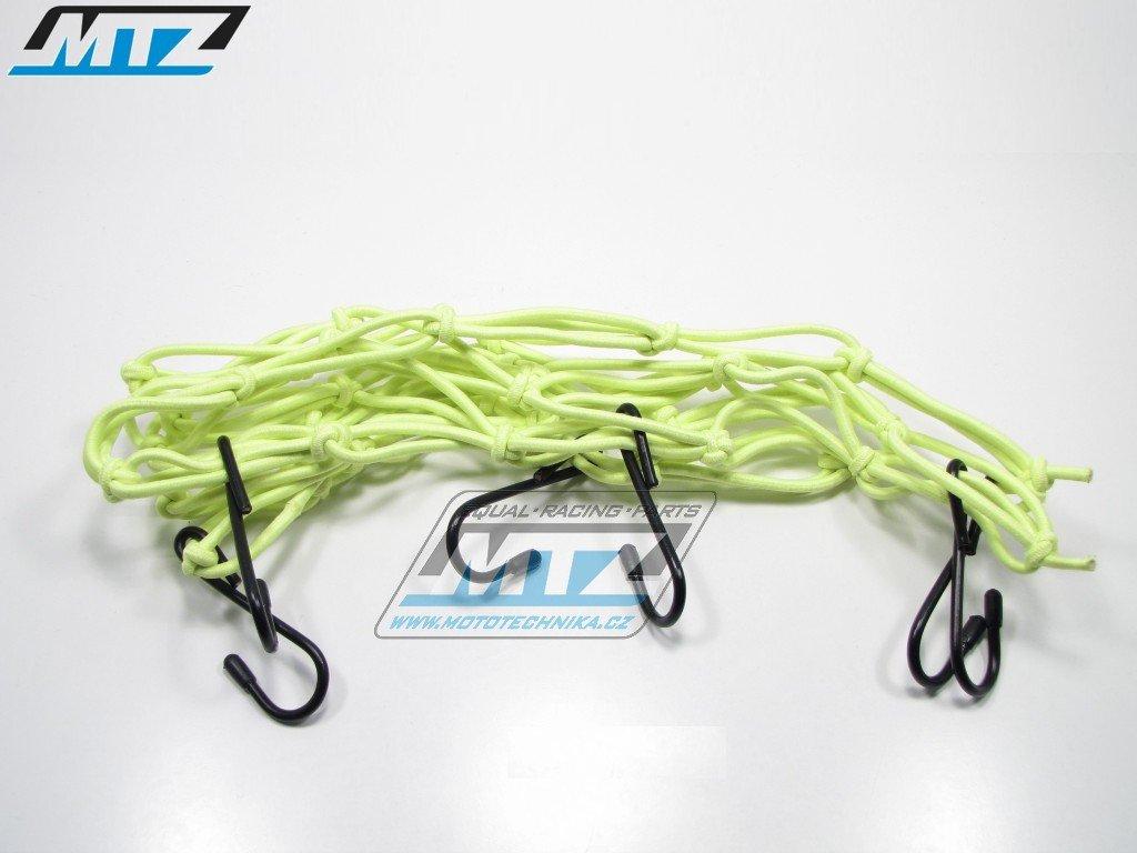 Síťka s háky (40x40cm) - zelen