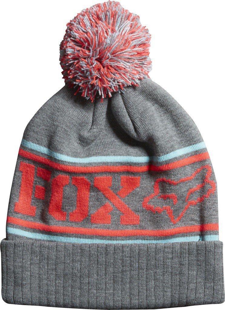 Čepice dámská FOX Beanie Grand Pom šedá