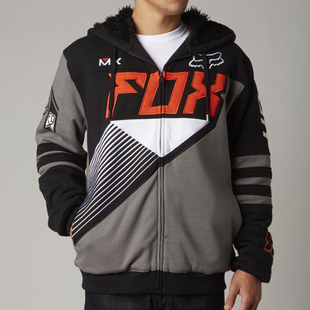 Mikina pánská FOX Zip Hoody Sasquatch