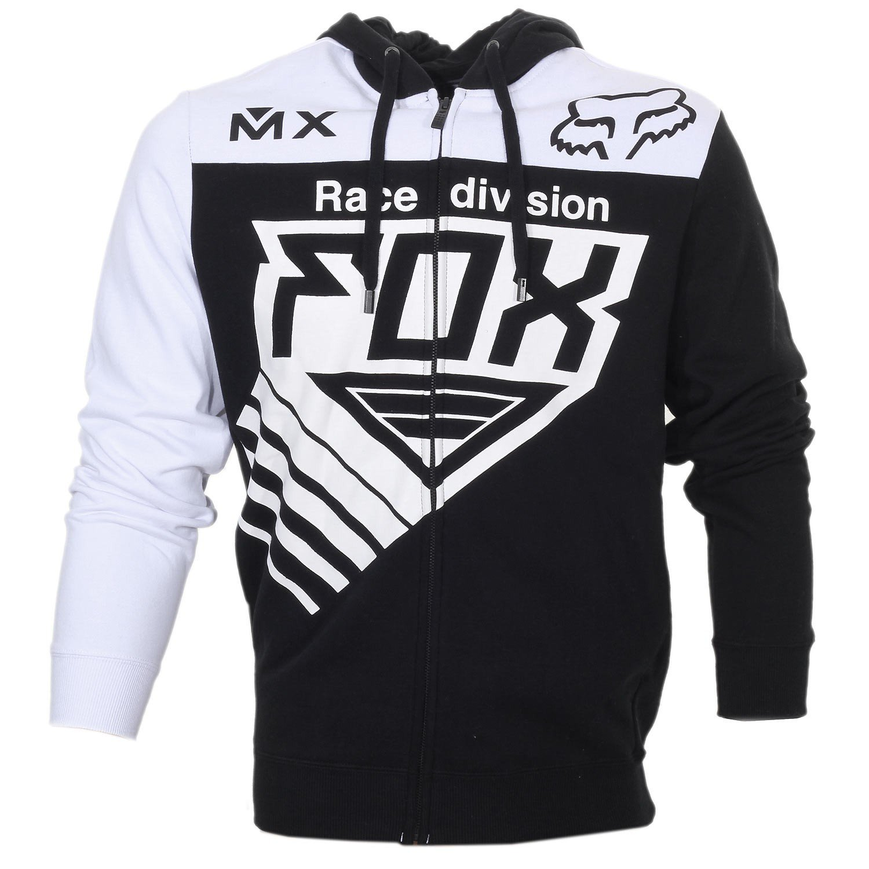 Mikina pánská FOX Zip Hoody Racer černá
