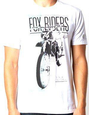 Tričko pánské FOX Birdrock bílé