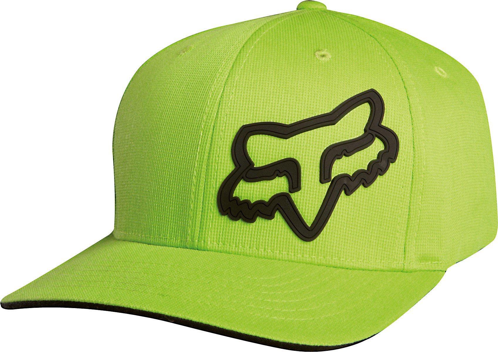 Čepice/Kšiltovka FOX Flexfit Signature zelená