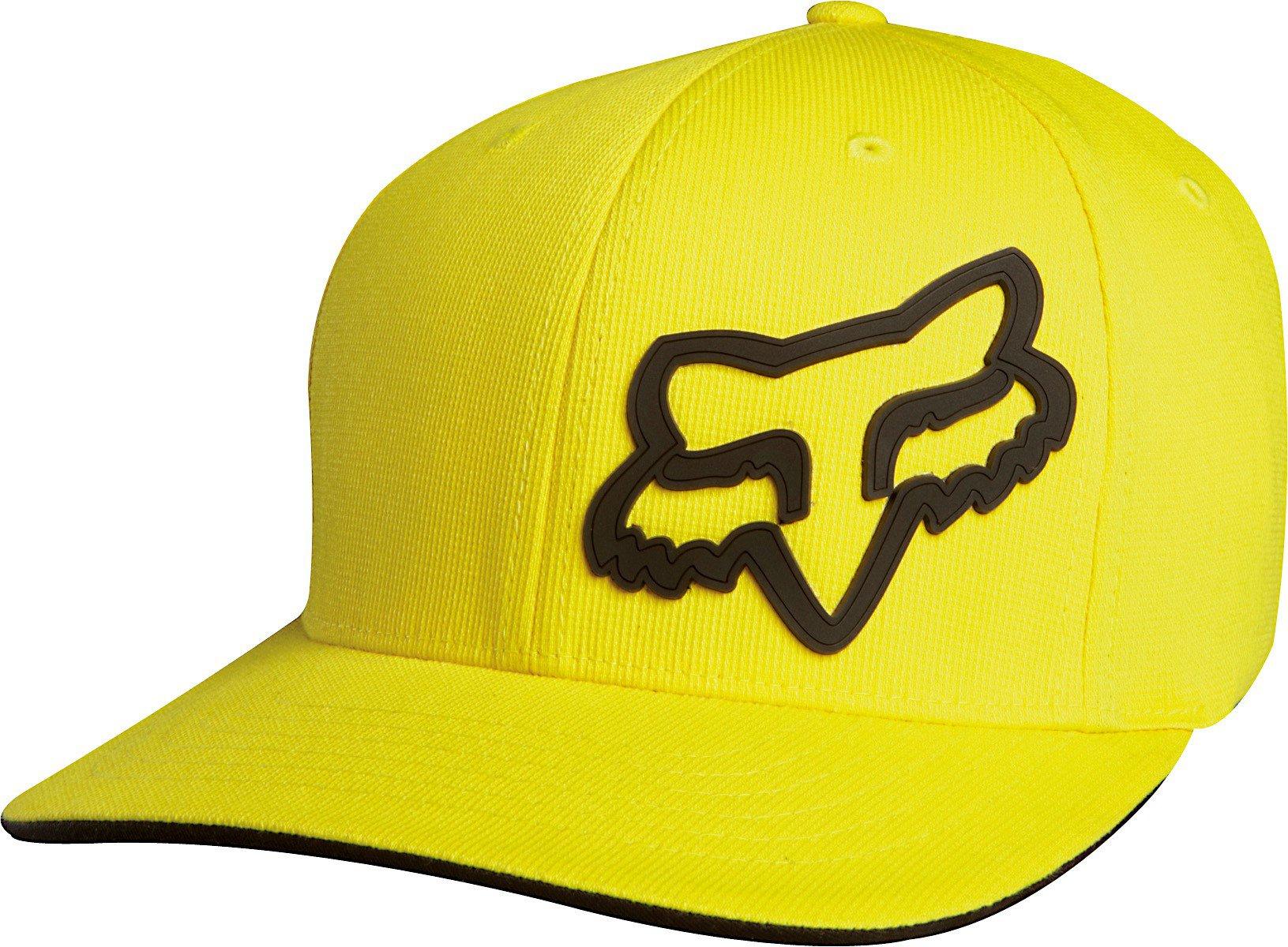 Čepice/Kšiltovka FOX Flexfit Signature žlutá
