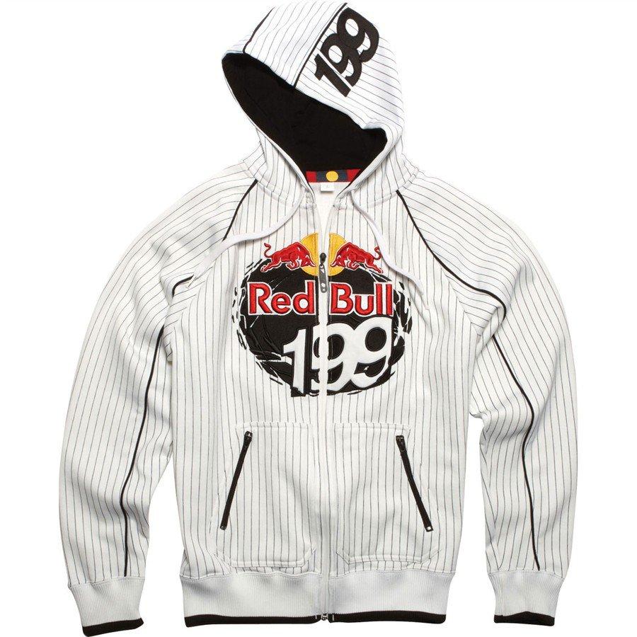 Mikina pánská FOX Zip Hoody Red Bull Travis Pastrana 199 d605c8fd70