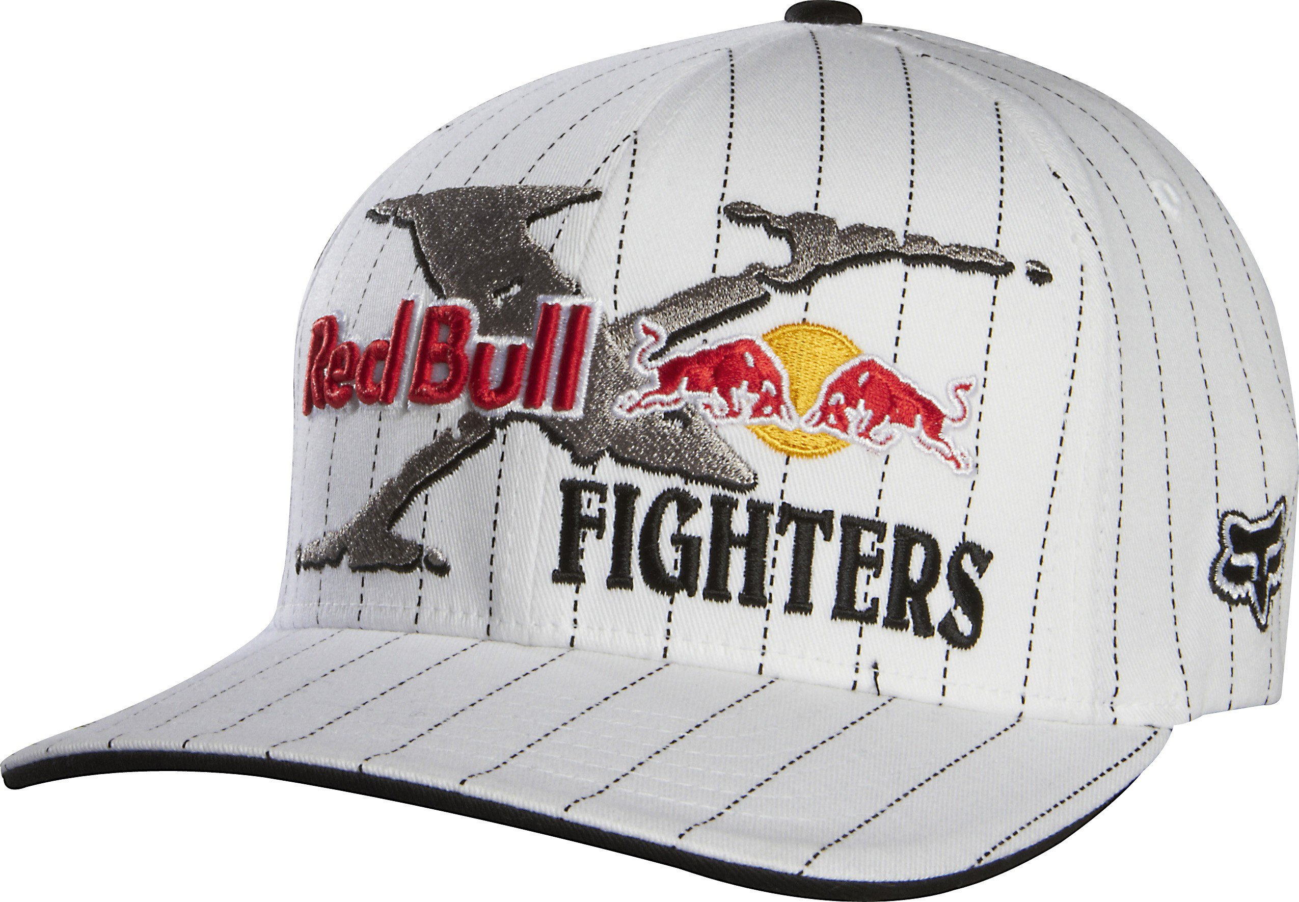 Čapica/šiltovka FOX Flexfit Red Bull X-Fighters Core biela S/M