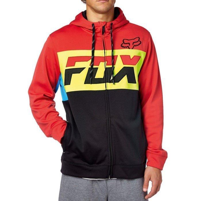 Mikina pánská FOX Tearoff Zip Fleece - velikost M