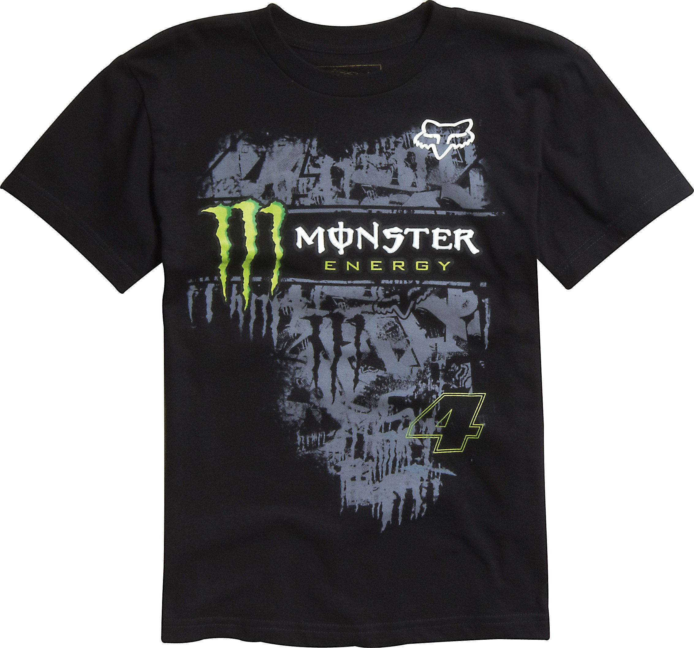 0f314a1a77e2 Tričko pánské FOX Monster RC Replica černé - velikost XL