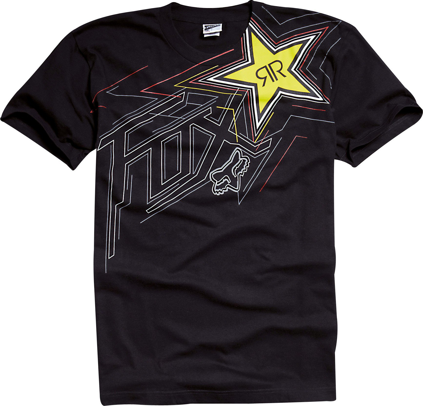 Tričko pánské FOX Rockstar Star To Finish