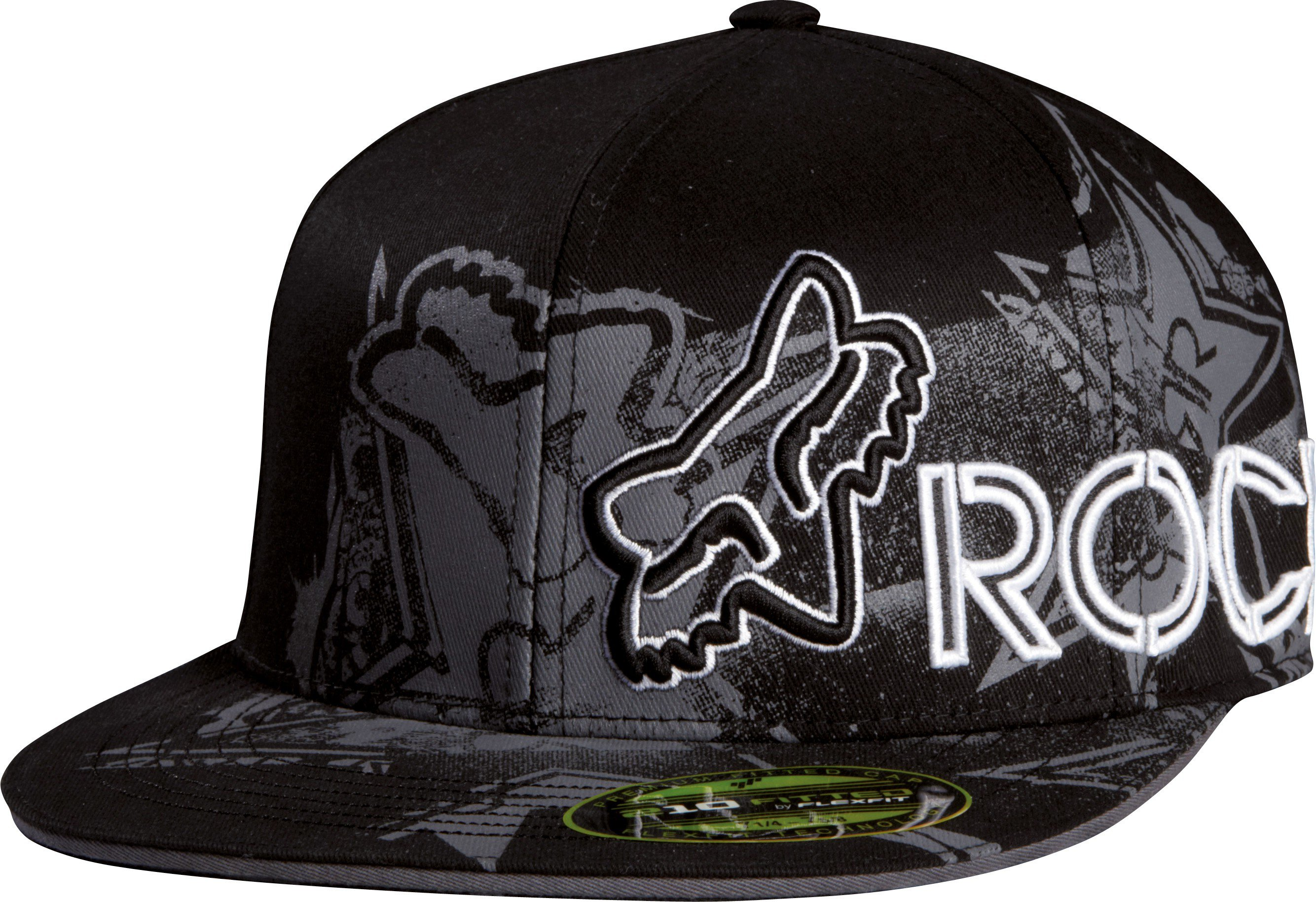 Čepice/Kšiltovka FOX Flexfit Rockstar Showbox 210