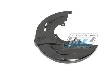 Kryt předního brzdového kotouče ZETA RACE - černý